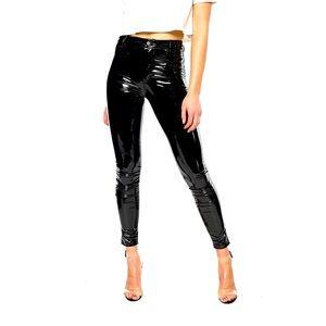 Piper & Jane Daniella Vinyl Skinny Pants 🖤